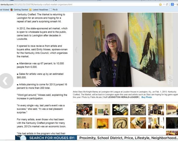 Herald-Leader Interview 2013
