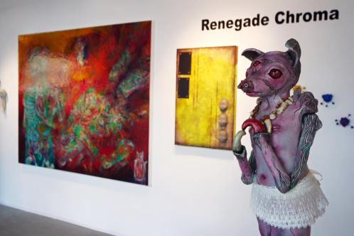 Renegade Chroma 2016, MS Rezny Gallery, Lexington, Kentucky - 4 person show
